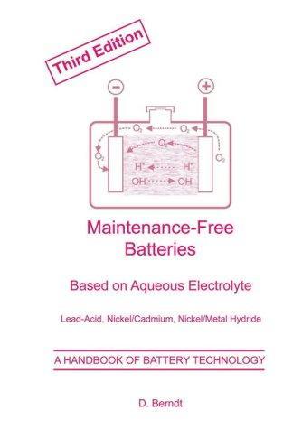 Maintenance-free batteries