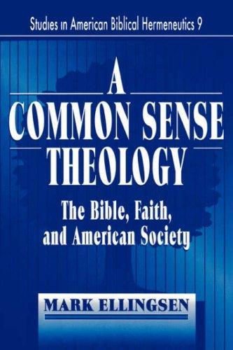 A Commonsense Theology