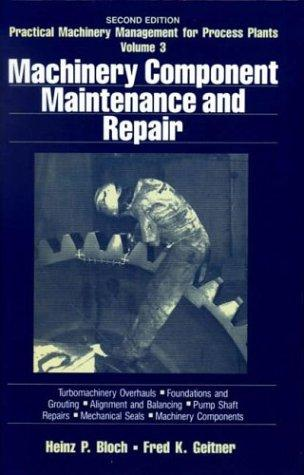 Download Machinery component maintenance and repair