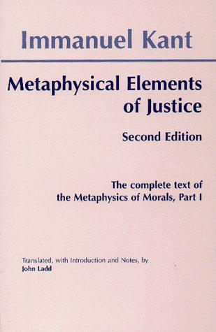 Download Metaphysical elements of justice