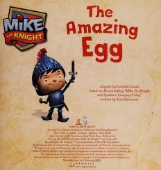 Cover of: The amazing egg   Cordelia Evans