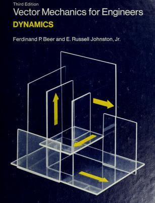 Cover of: Vector mechanics for engineers | Ferdinand Pierre Beer